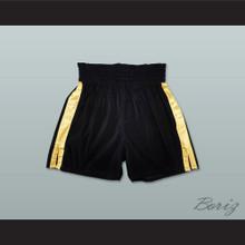 Rocky Style Black Boxing Shorts