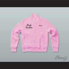 Grease Marty Maraschino Pink Ladies Letterman Jacket-Style Sweatshirt