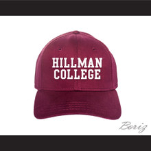 Hillman College Maroon Baseball Hat A Different World