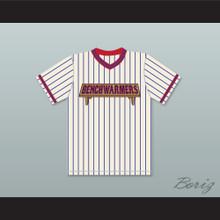 Billionaire Mel Carmichael 24 Benchwarmers Pinstriped Baseball Jersey