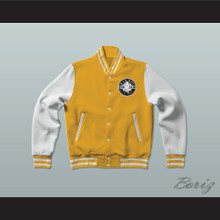 Bad Boy Entertainment Varsity Letterman Jacket-Style Sweatshirt