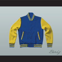 Shaquille O'Neal Blue Chips Letterman Jacket-Style Sweatshirt