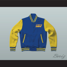 Shaquille O'Neal Western University Blue Chips Letterman Jacket-Style Sweatshirt
