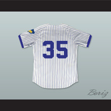 Richard Pryor Montgomery Brewster 35 Pinstriped Baseball Jersey Brewster's Millions