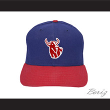 Hackensack Bulls Blue Baseball Hat Brewster's Millions