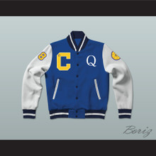 Quincy McCall 22 Crenshaw High School Basketball Varsity Letterman Jacket-Style Sweatshirt Class of 88