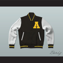 All The Right Moves Ampipe Bulldogs High School Football Varsity Letterman Jacket-Style Sweatshirt