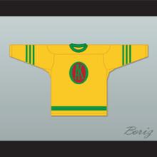 1945-46 Gordie Howe 9 Omaha Ak-Sar-Ben Knights USHL Away Hockey Jersey