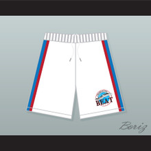 Juwanna Mann Charlotte Beat Away Basketball Shorts with Team Patch