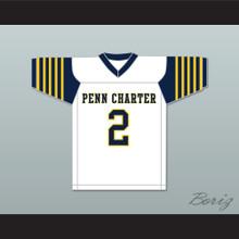 Matt Ryan 2 William Penn Charter School White Football Jersey