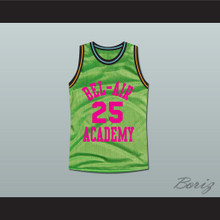 The Fresh Prince of Bel-Air Alfonso Ribeiro Carlton Banks Bel-Air Academy Neon Green Basketball Jersey