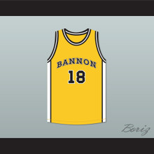 Scott Braddock 18 Bannon High School Basketball Jersey Jeepers Creepers 2