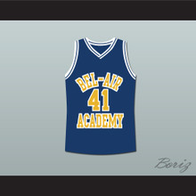 The Fresh Prince of Bel-Air Will Smith Bel-Air Academy Blue Basketball Jersey