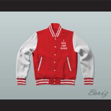 Pablo Escobar I Feel Like Pablo Red/White Varsity Letterman Jacket-Style Sweatshirt