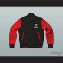Pablo Escobar I Feel Like Pablo Black/Red Varsity Letterman Jacket-Style Sweatshirt