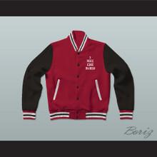Pablo Escobar I Feel Like Pablo Red/Black/White Varsity Letterman Jacket-Style Sweatshirt