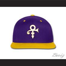 Prince Symbol Minnesota Purple/Yellow Baseball Hat