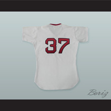 Bill Lee 37 Pro Career White Baseball Jersey Spaceman