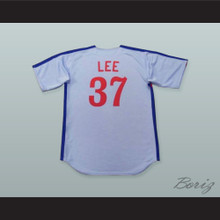 Bill Lee 37 Pro Career Light Blue Baseball Jersey Spaceman