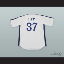 Bill 'Spaceman' Lee 37 Pro Career White Baseball Jersey Spaceman