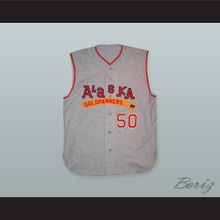 Bill Lee 50 Alaska Goldpanners Baseball Jersey