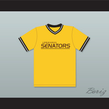 King 6 Longueuil Senators Beer League Baseball Jersey Spaceman