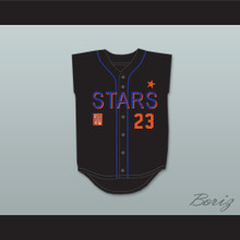 Brian McKnight 23 Stars Softball Jersey 10th Annual Rock 'n Jock Softball Challenge 1999