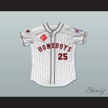 Bobby Bonilla 25 Homeboys Pinstriped Baseball Jersey 6th Annual Rock N' Jock Softball Challenge 1995