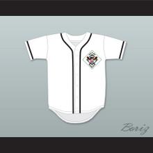 Robin Zander 16 Salamanders Baseball Jersey 1st Annual Rock N' Jock Diamond Derby