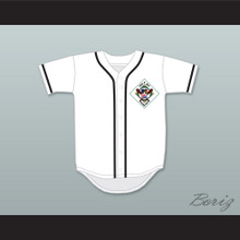 Sammy Hagar 55 Salamanders Baseball Jersey 1st Annual Rock N' Jock Diamond Derby
