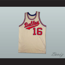 1968 - 1969 Dallas Basketball Jersey Home