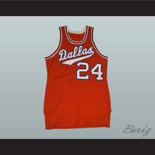 1968 - 1969 Dallas Basketball Jersey Road