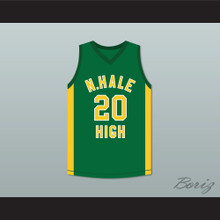 Snopp Dogg 20 N. Hale High School Basketball Jersey Young, Wild and Free
