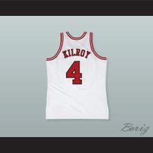 Johnny Kilroy 4 Pro Career White Basketball Jersey