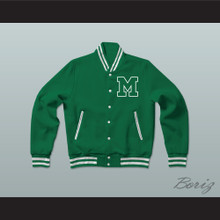 Nate Ruffin Marshall University Varsity Letterman Jacket-Style Sweatshirt We Are Marshall