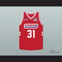 Shane Battier 31 Stripes Basketball Jersey Rock N' Jock All Star Jam 2002