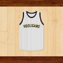 Bruno Mars 24K Hooligans Pinstriped Basketball Jersey by Morrissey&Macallan
