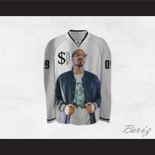 $noop Dogg 09 White Hockey Jersey