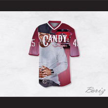 50 Cent 45 Candy Shop Luxury Car Pink Football Jersey
