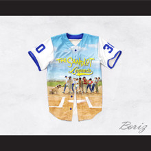 Benny 'The Jet' Rodriguez 30 The Sandlot Legends Baseball Jersey