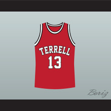 Eric Bishop Jamie Foxx Terrell Tigers 13 High School Basketball Jersey