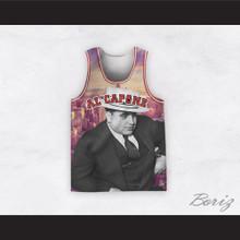 Al Capone 20 Cityscape Design Basketball Jersey