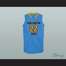 Andrew Wiggins Huntington Prep Basketball Jersey Stitch Sewn