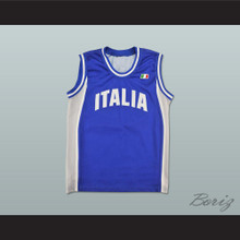Italia Basketball Jersey Any Player or Number Stitch Sewn