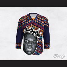 Biggie Smalls 60 Funky Style Hockey Jersey