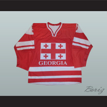 Amiran Gepheridze 5 Georgia International Hockey Jersey
