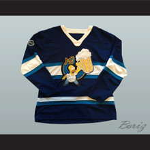 Duff Beer Homer Simpson Hockey Jersey