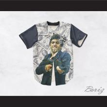 Tony Montana Scarface 20 Cash Money Baseball Jersey