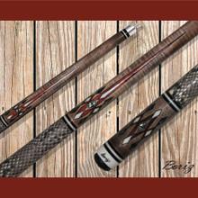 Boriz Billiards Pool Cue Stick Classic Style Serpent Skin AB 134