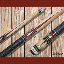 Boriz Billiards Pool Cue Stick Classic Style Linen Grip AB 164